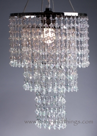 "Chandeliers ""Madison"" 3 Tier"