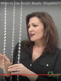 How to Choose the Right Beads - Crystal vs. Acrylic Beads