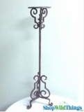 "CLEARANCE - 36"" Metal Plant Holder - 1 available"
