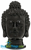 CLEARANCE-Buddha Decor Head Extra Large - Black