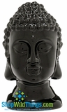 CLEARANCE-Buddha Decor Head Small - Black
