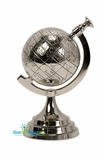 CLEARANCE-Celio Aluminum Globe Prop for the Table Top