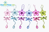 CLEARANCE-Daisy & Dragonfly Ornaments - 6 Colors Available!