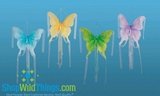 CLEARANCE! - HUGE! Hanging Butterfly with Streamers - 4 Colors Available!