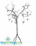 CLEARANCE-Iron Candle Tree  Rustic Romance - 6 Feet Tall