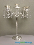 "CLEARANCE - ""Maryellen"" 5 Arm Candle Holder - 17.5"" - Limited Quantities Available"