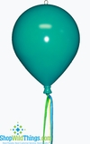 CLEARANCE-Never-Deflate Party Balloon : Teal 200mm