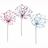 "CLEARANCE-""Pretty Sparkles"" Loop Burst - 30"" Blue, Pink Purple Assortment (3pcs)"