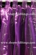 Curtain Purple Sheer Shiny Organza Tab Top