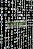 Diamante Duo Beaded Curtain - Crystal Iridescent - 3 ft x 6 ft
