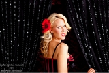 Diamante Duo Curtains - Oprah Winfrey Network Photo Shoot