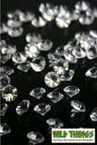 Diamond Confetti - 400 pcs - 6 Carats (12mm) - Clear Acrylic Diamonds