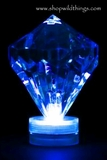 Diamond LED Light - Blue - Waterproof, Battery Operated