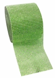 "Diamond Wrap Rolls Apple Green 4"" Wide x 30"" Long"