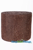 "Diamond Wrap Rolls - Brown - 4"" Wide x 30 ft Long (10 Yards) - Trimmable!"