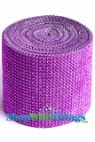 "Diamond Wrap Rolls Purple 4""Wide x 30 ftLong"