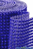 "Diamond Wrap Rolls Royal Blue 4"" Wide x 30' Long"