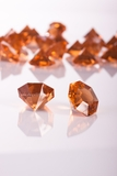 "Diamonds Bulk - Large 1.25"" - Bag of 58 Pcs - Amber/Brown - ""Sasha"""