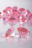 "Diamonds Bulk - Large 1.25"" - Bag of 58 Pcs - Pink - ""Sasha"""