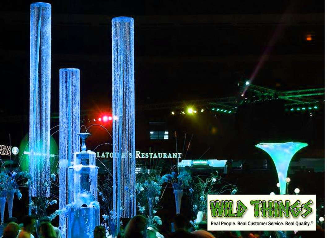 Diamond Crystal Iridescent Columns Shopwildthings