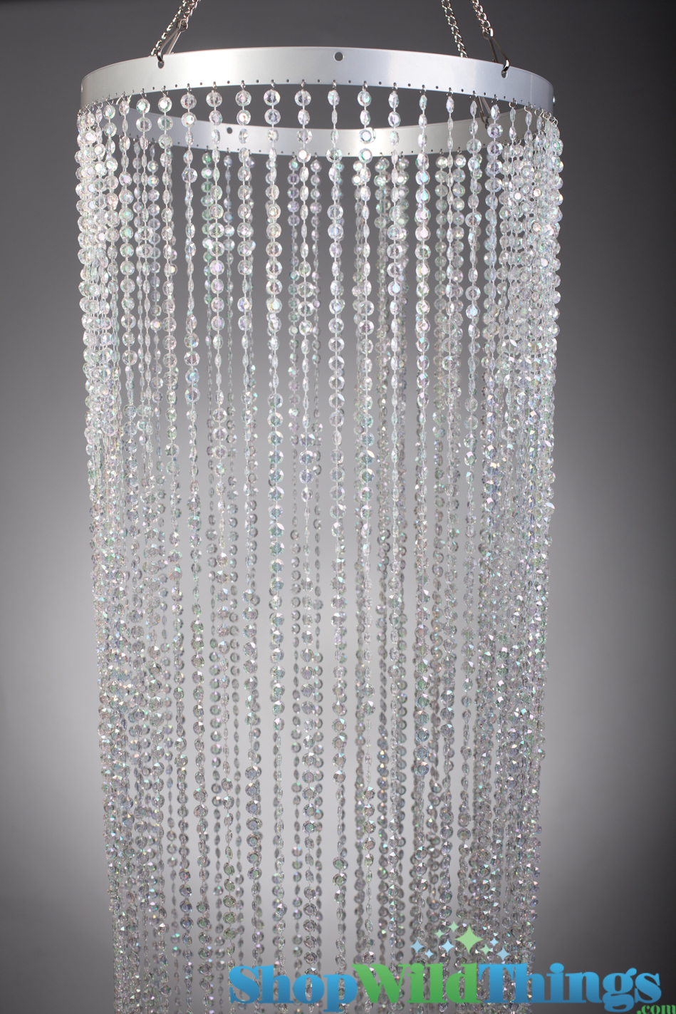Crystal Backdrop Crystal Column Cover Beaded