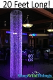 Diamonds Crystal Sparkling Iridescent Column 20' - Round - as low as $209.99!