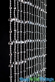 Disco Ball Silver 1 Foot Wide Curtain