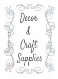Decor & Craft Supplies