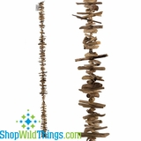 "Driftwood Garland 72""  Long x 4""  (Large Pieces)"