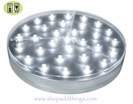 "E-Maxi Illuminator 6""  LED Light Disc by Acolyte - Remote Control Compatible - Centerpiece Lighting"