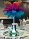 """Eiffel Tower Vases - Clear - 16"""" - Set of 12"""