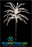 Enchantment  8 Foot Tall  Adjustable! Tree - LED Lights and Crystals