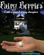 Fairy Berries - White - 10 Pcs - Floating, Glowing Firefly Effect!