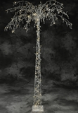 Fantasyland Crystal Beaded & 130 LED Lights Beaded Tree 7' Tall