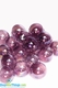 "Floating Glass Balls - Purple Iridescent  ""Champagne"""