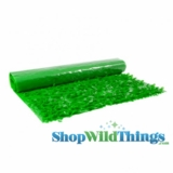 Floral Fabric Sheeting - Grass Green - 3 ft x 30 ft Roll