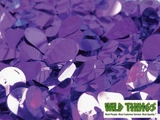 Floral Fabric Sheeting -Metallic Purple -  3' x 30' Roll