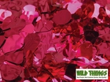 Floral Fabric Sheeting - Metallic Red -  3' x 30' Roll