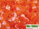 Floral Fabric Sheeting - Orange - 3' x 30' Roll