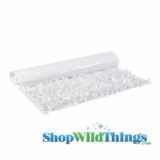 Floral Fabric Sheeting - White - 3 ft x 30 ft Roll