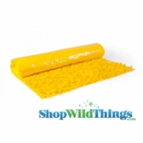 Floral Fabric Sheeting - Yellow - 3 ft x 30 ft Roll