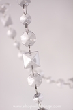 """Frankie"" - 30 ft Long Garland - Princess Cut & Octagons"