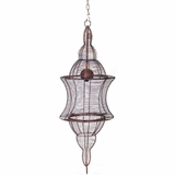 """French Country Metal Wire Chandelier """"Adelais"""" - 3 Feet Tall!"""