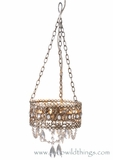 """Frenchella"" Antique Champagne Chandelier"