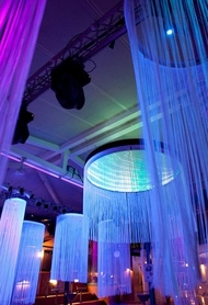 Fringe String Columns - Made to Order - 1' to 4' Diameter