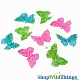 Garland -  Butterflies -  Spring Life - 6 Feet Long