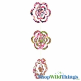 Garland -  Paper 3D Flowers -  Retro