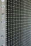 Gemstone Beaded Curtain - Crystal Non-Iridescent - 3 ft x 6 ft