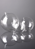 Glass Decorative Hanging Balls - 100mm - Set of 6  - as low as $27.99