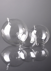 Glass Decorative Hanging Balls - 80mm - Set of 6 - as low as $19.99